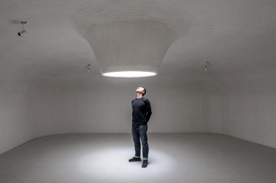 Stunning Subterranean Museum Built Beneath The Sand Dunes In China stunning subterranean museum built beneath sand dunes china 1