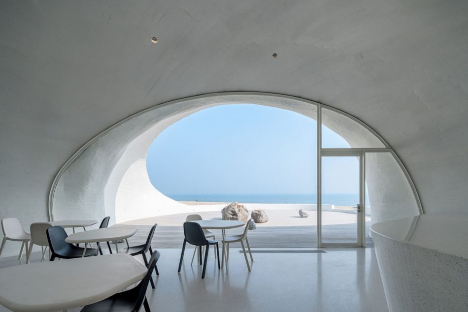 Stunning Subterranean Museum Built Beneath The Sand Dunes In China stunning subterranean museum built beneath sand dunes china 10