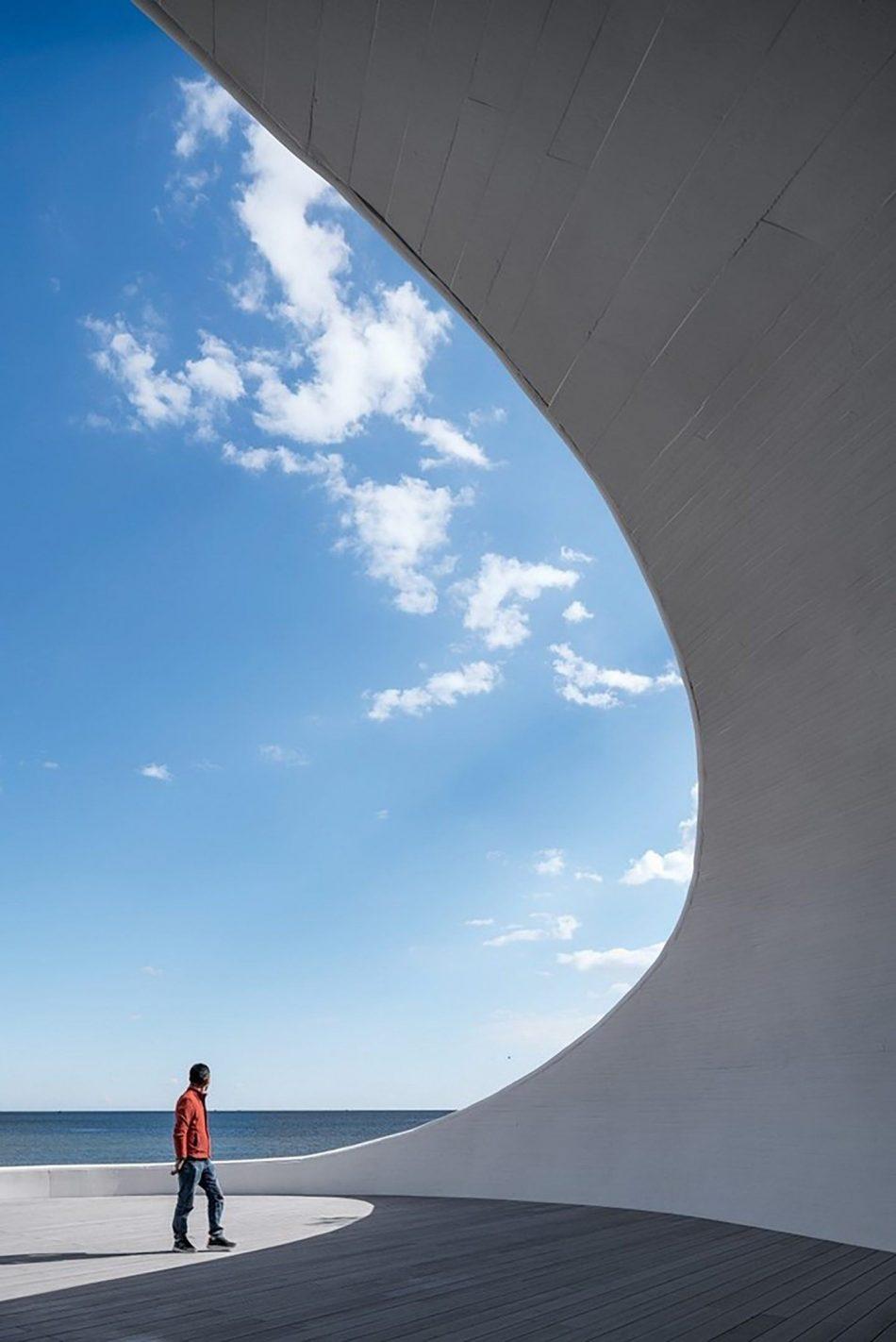 Stunning Subterranean Museum Built Beneath The Sand Dunes In China stunning subterranean museum built beneath sand dunes china 11