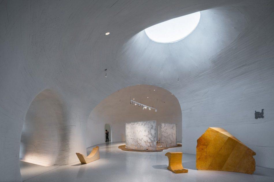 Stunning Subterranean Museum Built Beneath The Sand Dunes In China stunning subterranean museum built beneath sand dunes china 6 1