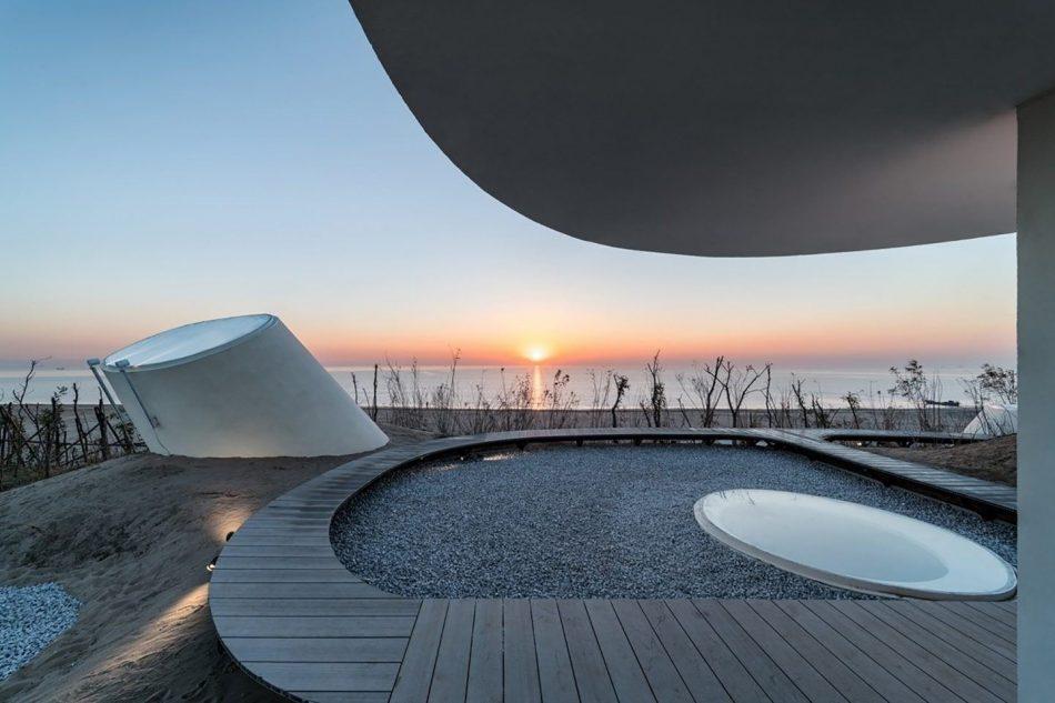 Stunning Subterranean Museum Built Beneath The Sand Dunes In China stunning subterranean museum built beneath sand dunes china 8